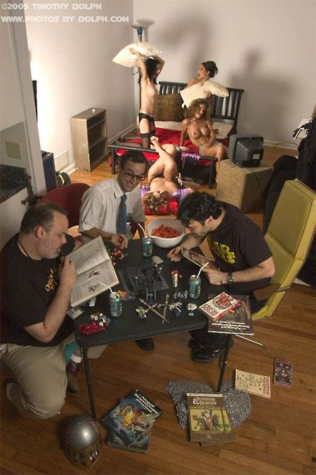 Dungeons and Dragons: The Correct Game Session
